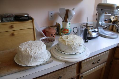 2nd cake naked
