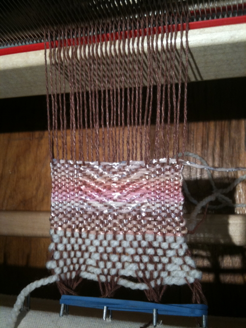 playing with a warp/weft combo