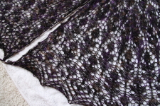 Blackberry Shawl