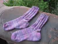 Very Pink Socks