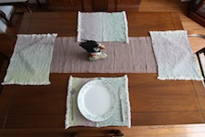 RH rustic placemats