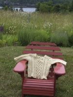 Baby sweater/chair