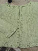 Jacket front detail