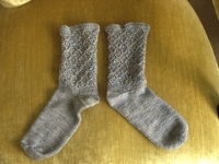 Two matched socks
