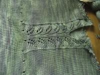 Leaf lace detail