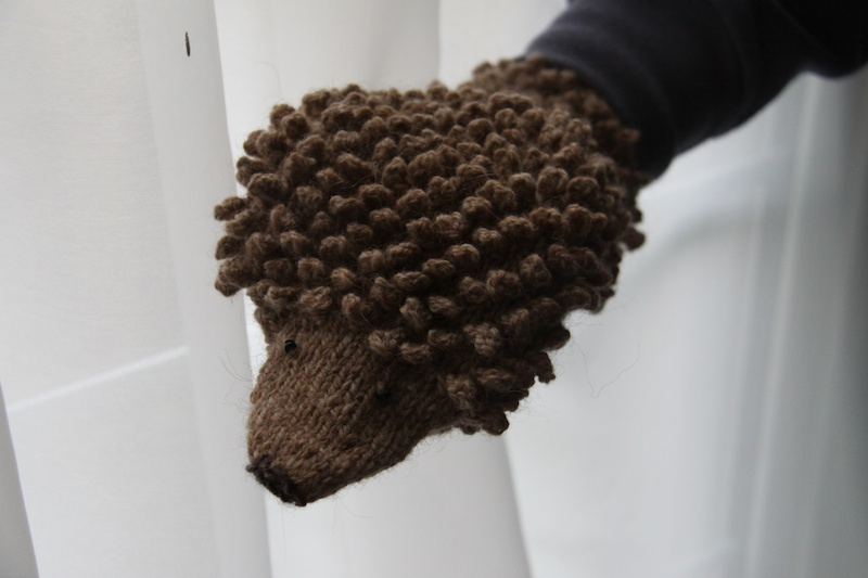 Hedgehog Mitts
