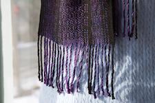 second scarf                fringe