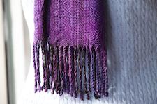 third scarf,                fringe