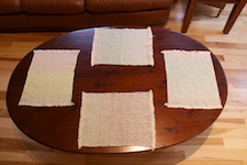 RH Rustic                Placemats Too